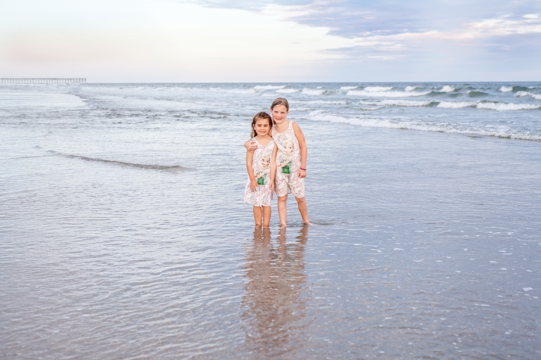 Family beach pictures in Ocean Isle
